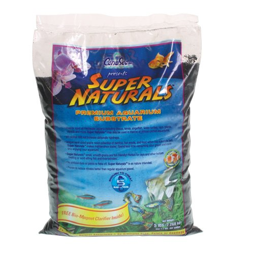 Carib Sea ACS05824 Super Natural Rio Grande Sand for Aquarium, 5-Pound by Carib Sea