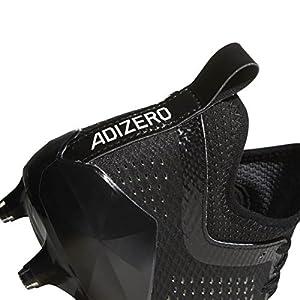 adidas Adizero 5Star 7.0 Cleat Men's Football 12 Black-White