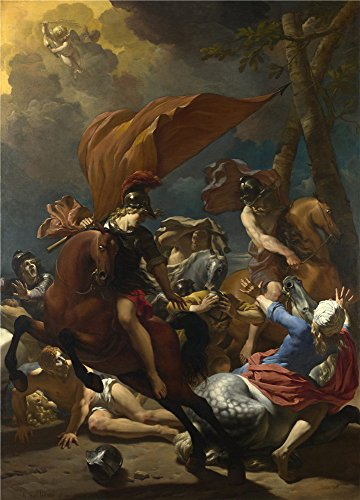 Oil Painting 'Karel Dujardin The Conversion Of Saint Paul', 24 x 33 inch / 61 x 85 cm , on High Definition HD canvas prints is for Gifts And Laundry Room, Living Room And Study Room Decoration, coupon