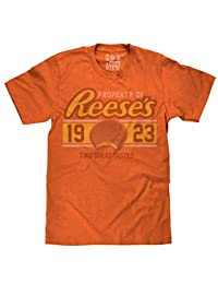 Property of Reese's Cup T-Shirt - Vintage Licensed Tee for Men by Tee Luv