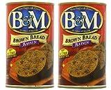 B&M Original Brown Bread in Can: Raisin