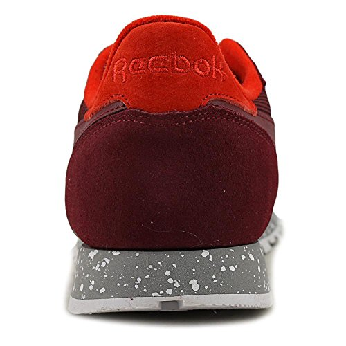 Reebok Cl Leather Piel Zapato de Tenis