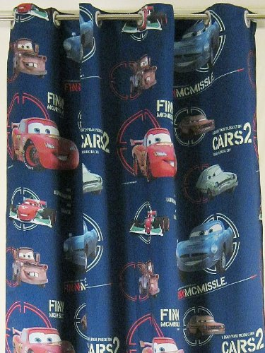 Eyelet Curtain Panel For Childu0027s Room With Disney CARS Blackout Darkening