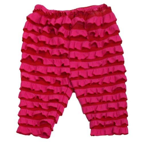 3 Year Wrapables Kids Ruffle Capri Pink