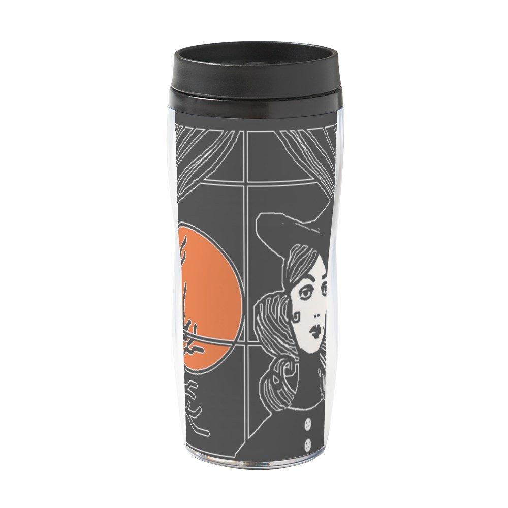 CafePress - Moonlit Window - 16 oz Travel Mug by CafePress (Image #1)