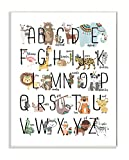 The Kids Room by Stupell Stupell Home Décor Boho Animal ABCs Wall Plaque Art, 10 x 0.5 x 15, Proudly Made in USA