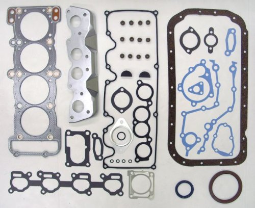 89-94 Mazda MPV G6 2.6L 2606cc L4 12V SOHC Engine Full Gasket Kit Set (FelPro: HS9637PT, CS9637)