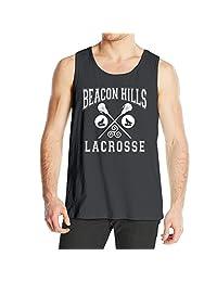 Men's Beacon Hills Lacrosse Tank Top Black