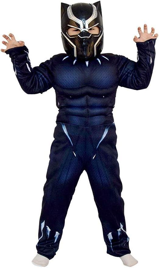 XINFUKL Black Panther Niños Rendimiento Cosplay Héroe Vengadores ...