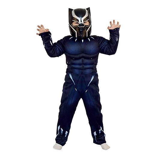 XINFUKL Black Panther Niños Rendimiento Cosplay Héroe ...