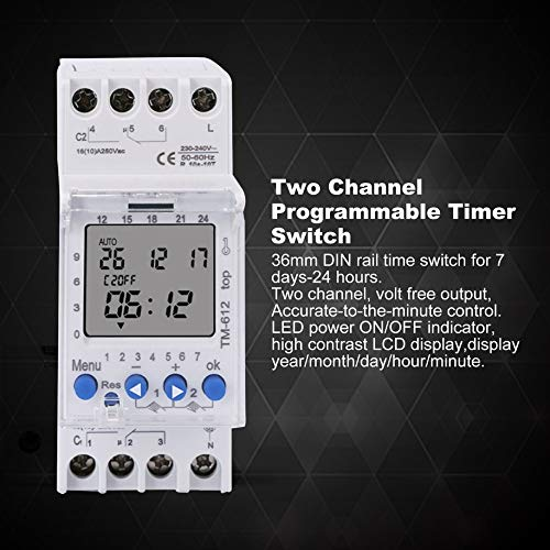 Timer Switch, Owon SDS7102EV 8 Inch Digital Storage Oscilloscope 100MHz 2+1 Channels Record USB Waveform Generator Logic Analyzer Spectrum