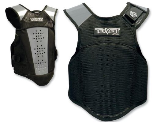 Tekrider Crossover TekVest , Size: Lg, Gender: Mens/Unisex, Primary Color: Black TVCX2305