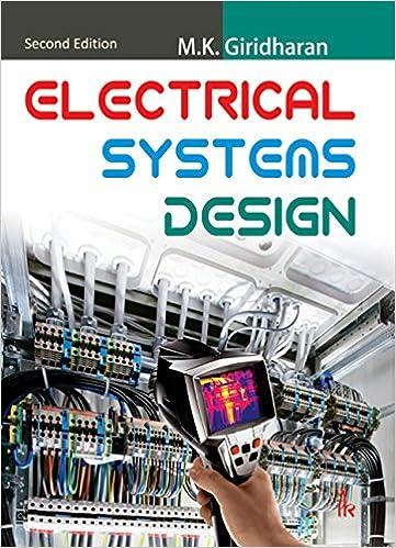 Electrical Systems Design 2nd Edition Giridharan M K Ebook Amazon Com