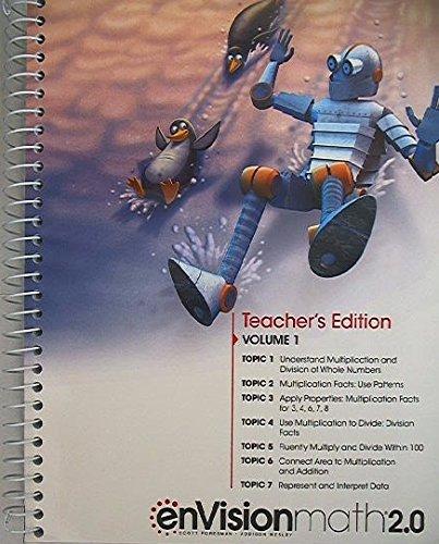 EnVision Math 2 0 Teacher S Edition Grade 3 Volume