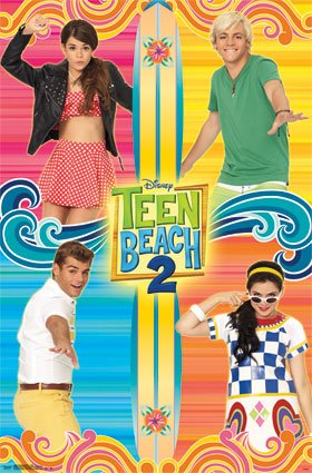 Teen Beach Movie 2 - Grid Poster 22 x -