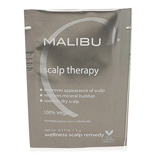 Malibu C: Nourishing and Protecting Scalp Therapy Wellness Hair Remedy (Box of 12) (Scalp Soothing Remedy)