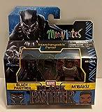 m marvel - Minimates Marvel Black Panther & M'Baku Man-Ape Minifigures