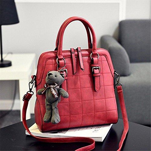 Pochette BMKWSG Femme Red pour B Black B zx1Z8xqd