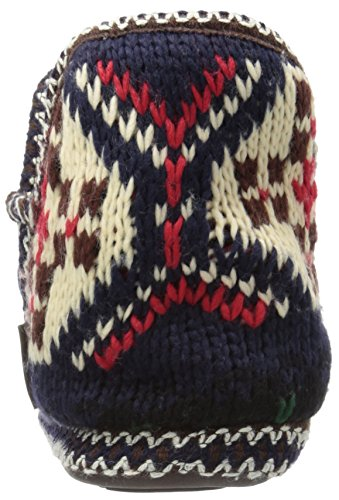 Muk Luks Womens Amira Slipper Blu