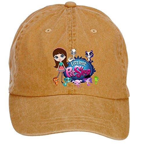 Tommery Unisex Littlest Pet Shop Hip Hop Baseball Caps