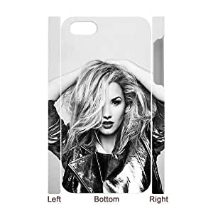 C-EUR Diy hard Case Demi Lovato customized 3D case For Iphone 4/4s