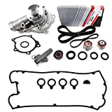 eagle talon timing cover - New ITM167HTA-4WPVC (153 Teeth) Timing Belt Kit, Hydraulic Tensioner (Auto Adjuster), Water Pump, & Valve Cover Gasket Set for Mitsubishi Eclipse Eagle Talon 2.0L Turbo 4G63 1996-99