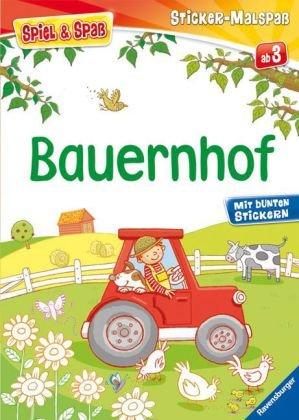 Bauernhof (Spiel & Spaß - Sticker-Malspaß)