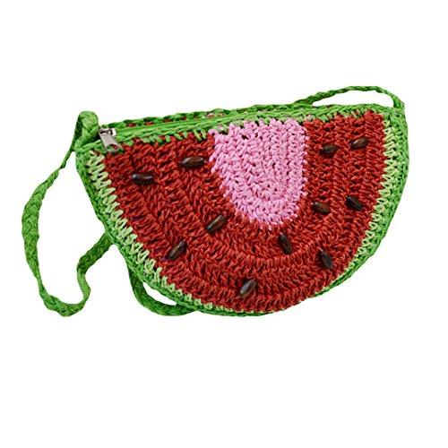 Millya - Bolso cruzados para mujer fresa sandía