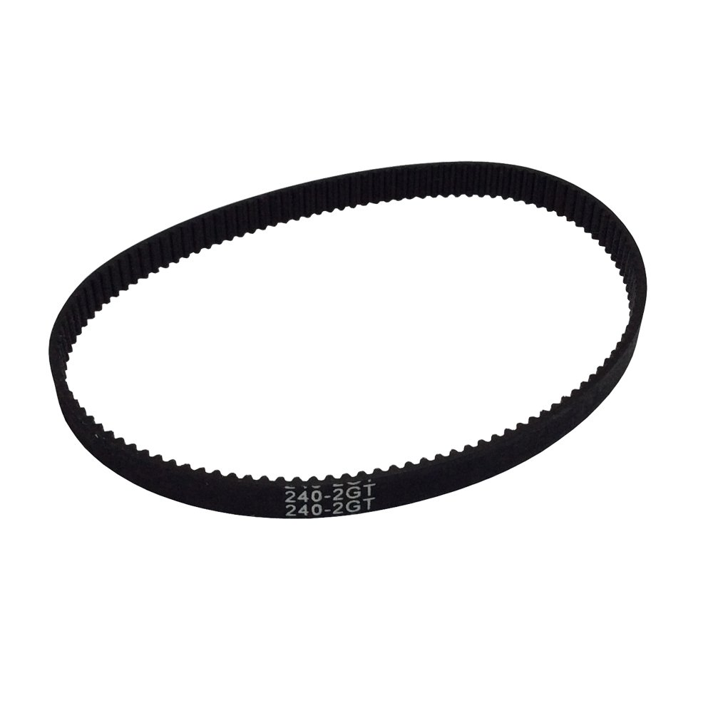 BEMONOC 2GT Timing Belt L=250mm W=6mm 125 Teeth in Closed Loop 2GT Rubber Conveyor Belts Pack of 10pcs