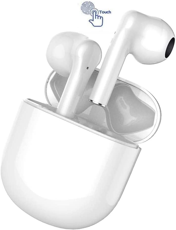 Wireless Earbuds,Bluetooth 5.0 Headphones,True Wireless Super bass IPX5 Waterproof Earphone,3D Stereo in-Ear Intelligent Noise Reduction Headset,for iPhone/Android/Samsung/Apple Airpods/Airbuds