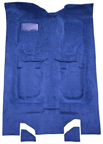(1993 to 1996 Cadillac Fleetwood Carpet Custom Molded Replacement Kit, 4 Door Rear Wheel Drive (820-Saddle Plush Cut Pile))