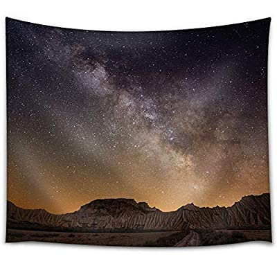 Gorgeous Design, Landscape View of The Mountains and Night Sky, Premium Product