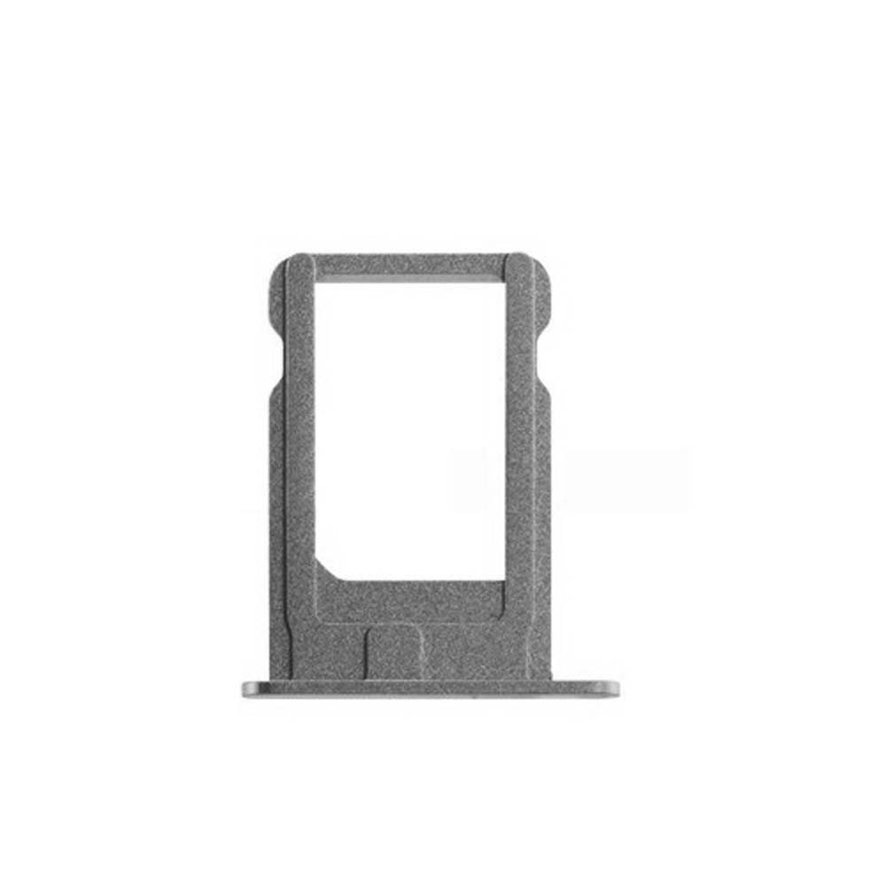 SIM Card Tray Compatible with iPhone 5S, SE (Silver) by Group Vertical