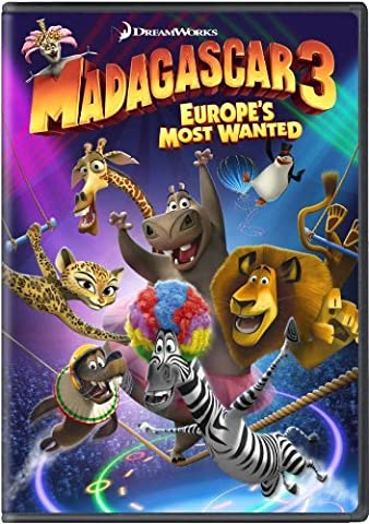 Madagascar 3: Europe's Most Wanted (DVD) (2012) (Region 1) (US Import) (NTSC) by Ben Stiller (Madagascar 3 On Dvd)