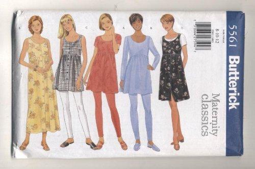 Butterick Classics Maternity Dress