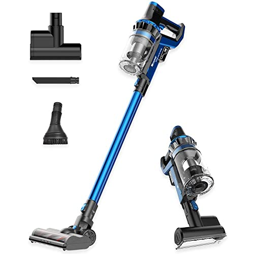 Proscenic P10 Cordless Vacuum Cleaner, 22000Pa Powerful Suction, Led Touch Screen, 4 Adjustable Suction Modes, 4-in-1 Stick Handheld Vacuum