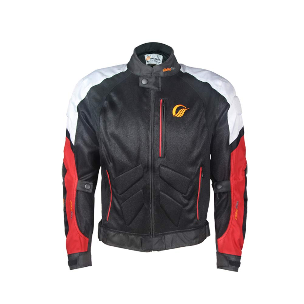 ETbotu Unisex Motorcycle Cycling Suit Jacket Rider Racing Breathable Anti-colision Motorbike Suit for Summer Spring 3XL