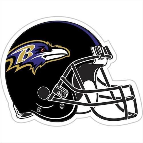 NFL Baltimore Ravens 12-Inch Vinyl Logo Magnet