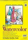 "Strathmore (360-9 300 Series Watercolor Pad, Cold Press, 9""x12"""