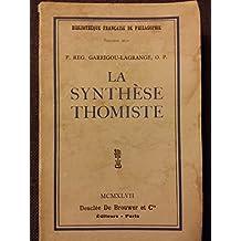 LA SYNTHESE THOMISTE