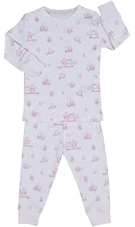 Kissy Kissy Baby-Girls Infant Wonderfully Wise Print Long Pajamas Set 5a8887562