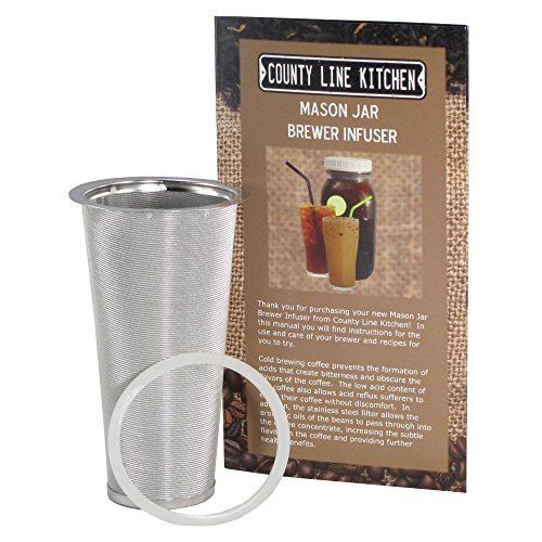 Stainless Steel Filter for Cold Brewed Coffee, Iced for sale  Delivered anywhere in Canada