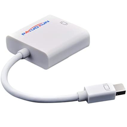Buy Patuoxun Thunderbolt Mini Displayport To Vga Video Cable Adapter