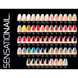 Sensationail Color Gel Polish 10-Piece Collection Set No Repeats Random Assortment