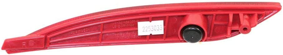 Set of 2 Bumper Reflector Rear Light Lamp Driver and Passenger Side for Sonata 11-13