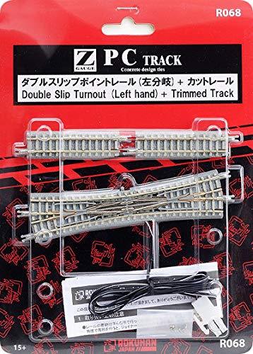 OKSLO vcshobbies Rokuhan Z Scale R068 PC Double Slip Turnout LH -