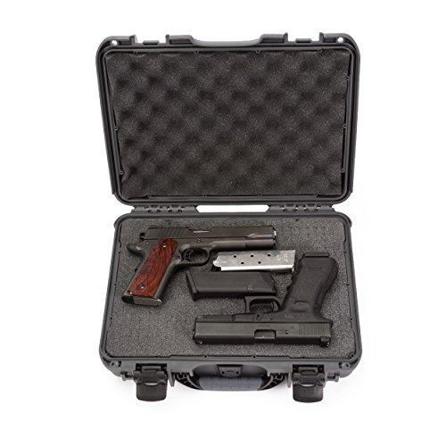 Nanuk 910 Professional Hand Gun/Pistol Case, Waterproof Shockproof - Graphite