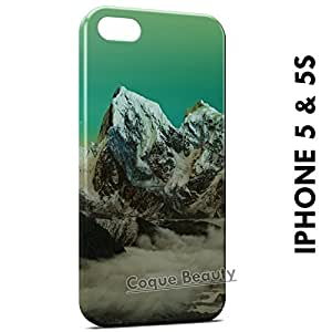 Carcasa Funda iPhone 5/5S Green Sky & Moutain Protectora Case Cover