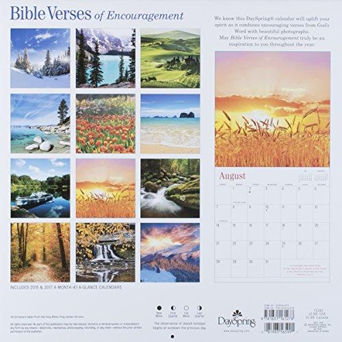 DaySpring 12″ x 12″ 2016 12-Month Wall Calendar, Bible Verses (73343)