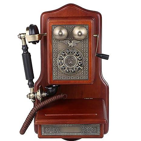 Teléfono Antiguo_1907 Hotel cuelga Paredes y cuelga teléfonos para Restaurar máquinas Antiguas.: Amazon.es: Electrónica